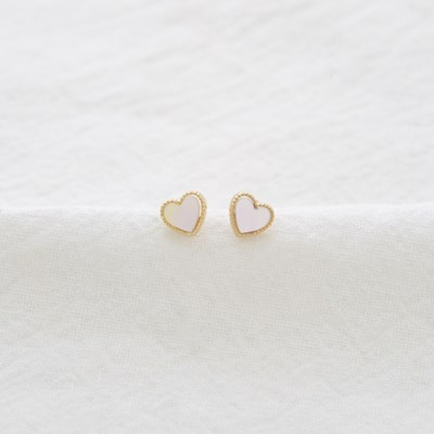 mini heart shell