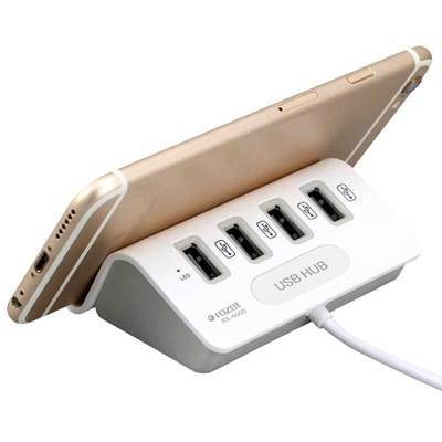 로제트월드/RX-4600/USB허브/4port/4포트/HUB/거치대/스마트폰