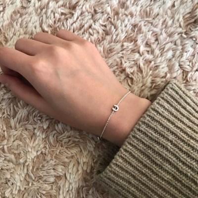 [위시주얼리] Horseshoe bracelet (실버 말발굽 팔찌)