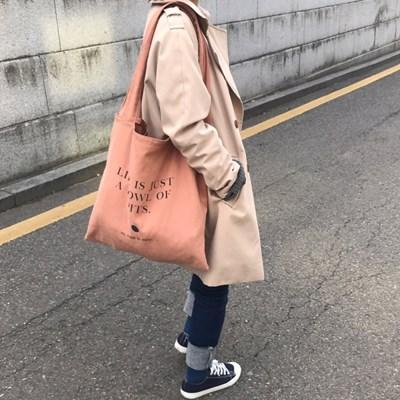 [세컨드모닝]살구씨 에코백
