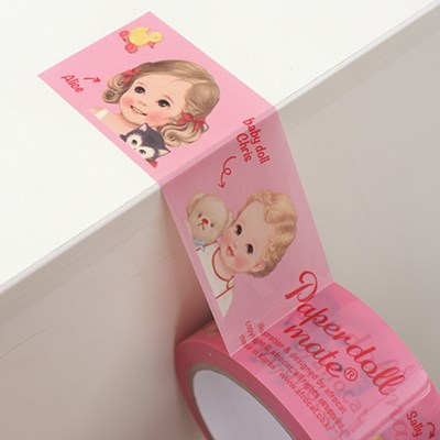 paper doll mate box tape