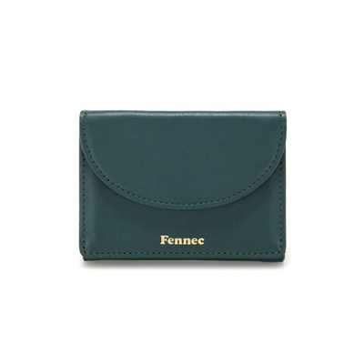 Fennec Halfmoon Mini Wallet - Moss green