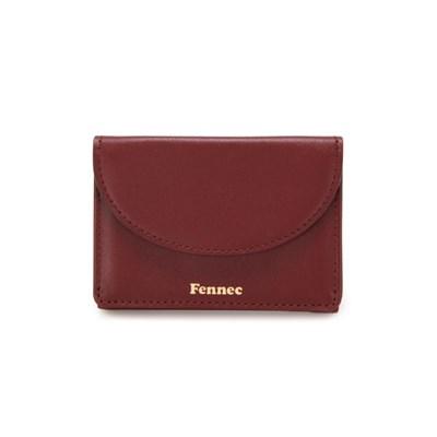 Fennec Halfmoon Mini Wallet 002 Smoke Red