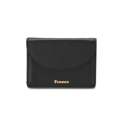 [3/22 예약배송]Fennec Halfmoon Mini Wallet - Black