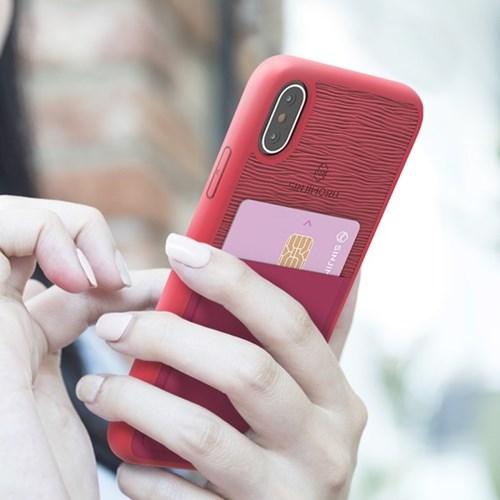 신지파우치 아이폰X/XS 핸드폰 카드 케이스