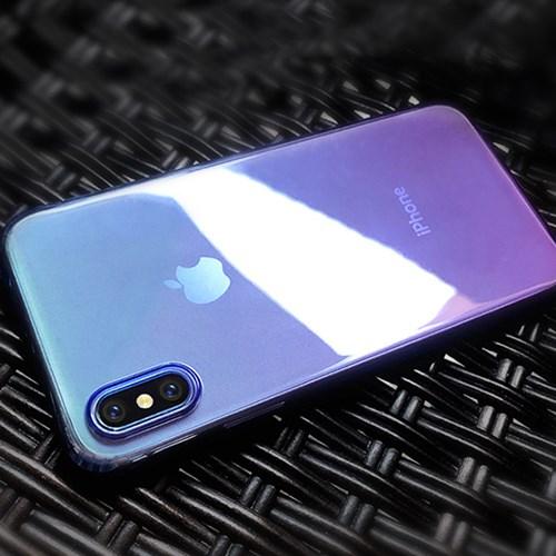 카메라보호 그라데이션 젤리 TPU 아이폰X 외 애플시리즈