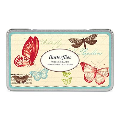 카발리니 빈티지 스탬프 세트-Butterflies