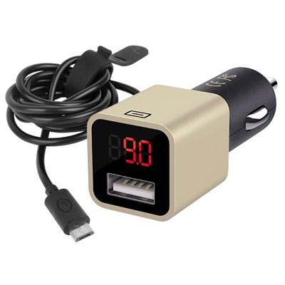 30분충전 전압표시 9V 차량용 충전기