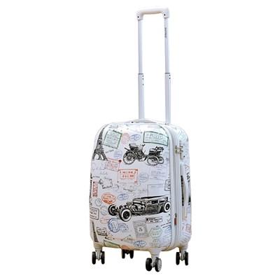 앙뜨레 S2711 20형 스탬프 여행가방 여행용 캐리어