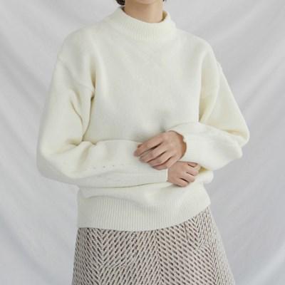 Bubble color knit