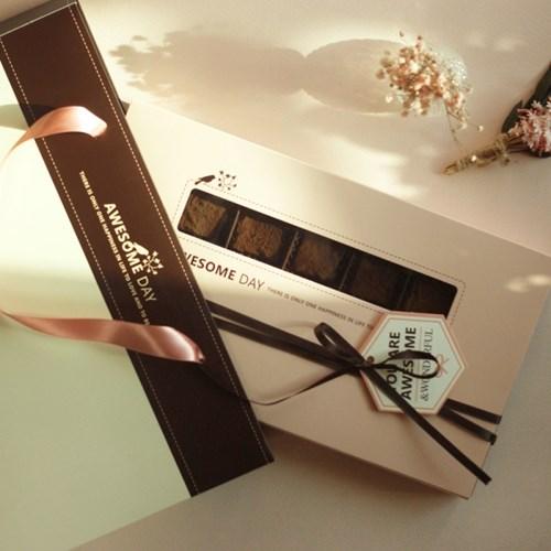 어썸데이 넛츠 파베 초콜릿 만들기 세트 DIY 초콜렛 발렌타인데이