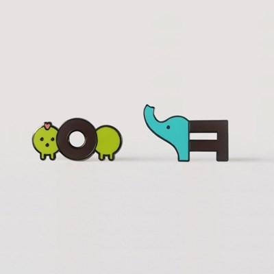 이응이 뱃지 + 카드