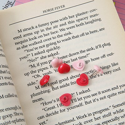 Lovely Heart Pin 러블리 하트 핀- 1box