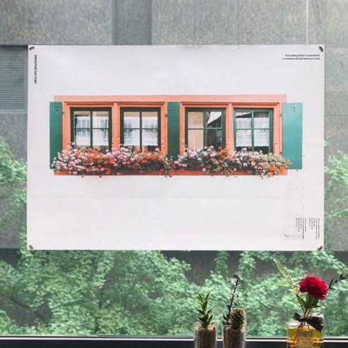 Window 패브릭 포스터
