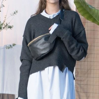[유르트] Vono Waist Bag_L_Black [YB210_BK]