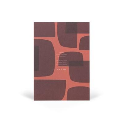 [NOTEM] Notepad - JO Red Shapes (노트엠 노트패드)