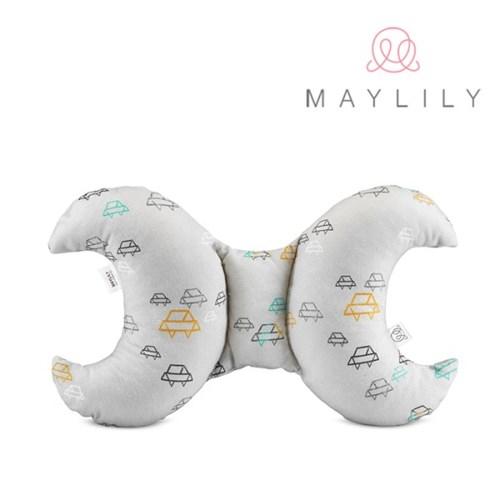 [메이릴리] 뱀부 목보호쿠션(믹스 카)