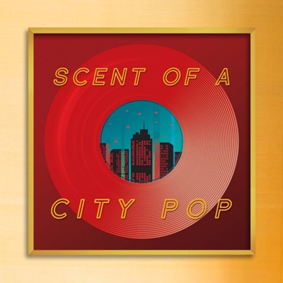 LP 메탈 액자 - scent of a citypop