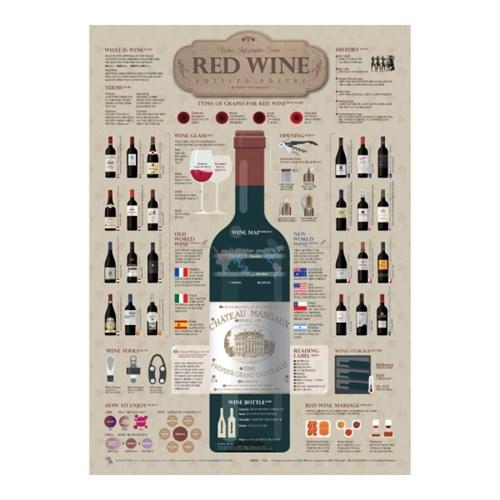 인포그래픽 포스터 - 와인