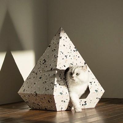 H&B Cat Diamond Terazzo Beige