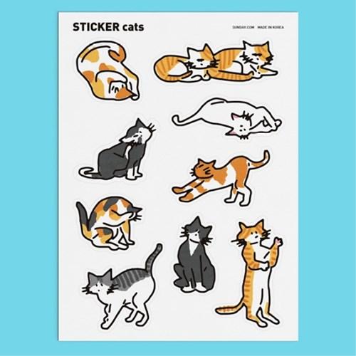 고양이 스티커