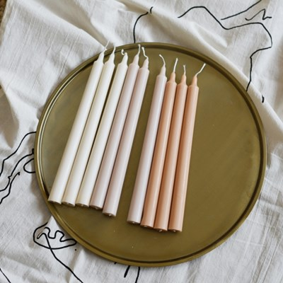 Taper candle - 6colors
