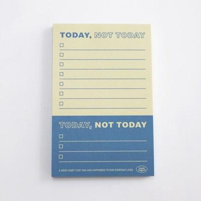 TODAY, NOT TODAY - 투데이 낫 투데이 (블루)