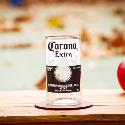 코로나 맥주컵4P 세트
