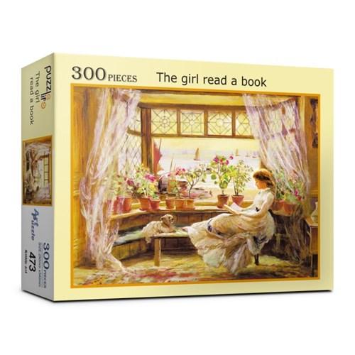 300피스 독서하는 소녀 직소퍼즐 PL473_(987664)