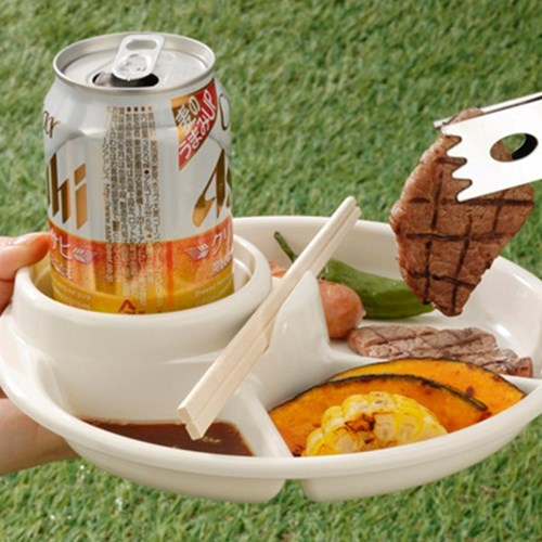 BBQ 바베큐 접시