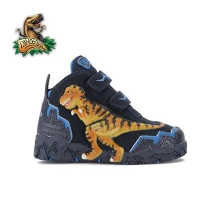 [다이노솔즈]3D 티라노사우루스 공룡 운동화 네이비