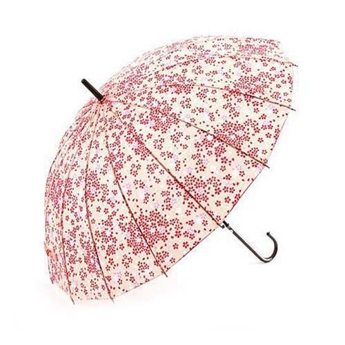 [일본] 분홍색 벚꽃 자동장우산/ 3단 접이식우산