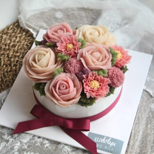 [텐텐클래스] (동작) 앙금 꽃이 만개한 떡케이크
