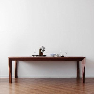 [헤리티지월넛] A형 식탁/테이블 2200