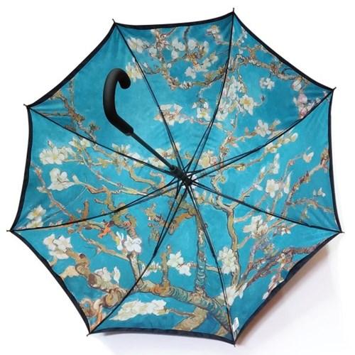 명화_우블리-고흐 아몬드나무 65이중 우산양산겸용 자동우산