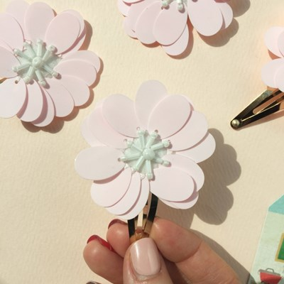 cherry blossoms hairpin (벚꽃 헤어핀)