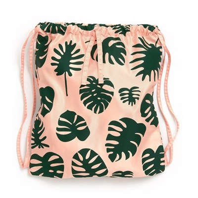 GOT YOUR BACK DRAWSTRING BACKPACK-monstera (백팩)