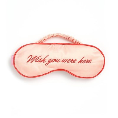 GETAWAY EYE MASK-wish you were here(수면안대)