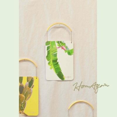 미니 행잉 엽서 (바나나 잎)