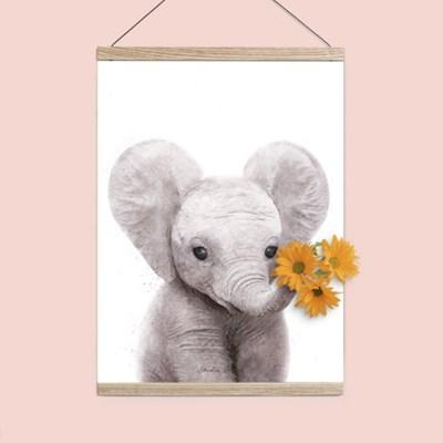 플라워포켓 코끼리