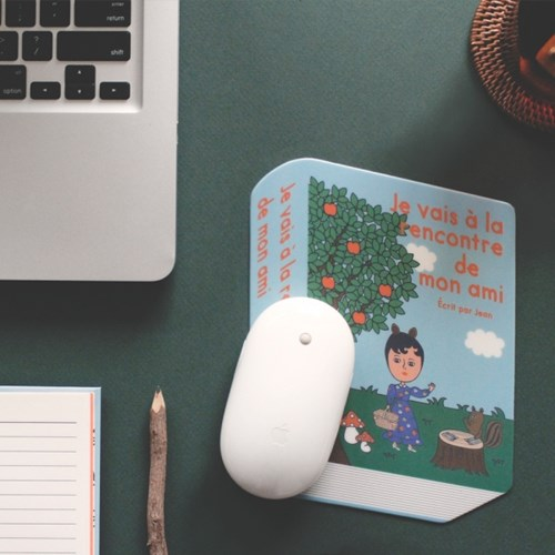 BOOK MOUSE PAD VER.2 4종