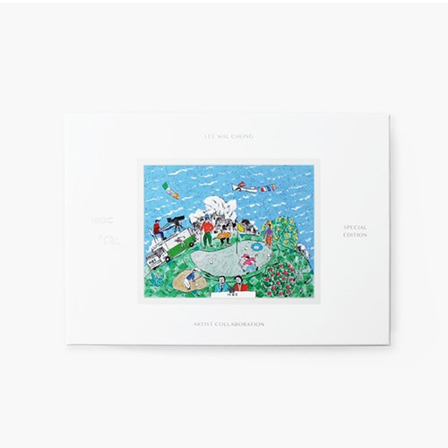 MBCX이왈종 골프공 세트(Limited Edition)