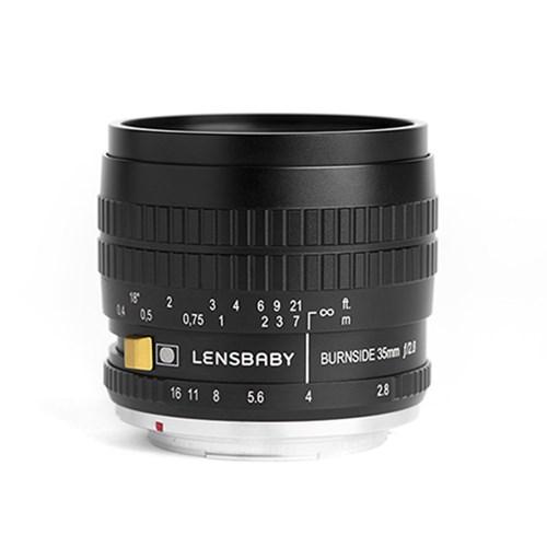 LENSBABY 렌즈베이비 BURNSIDE 35 번사이드35 BLACK (마운트 선택)