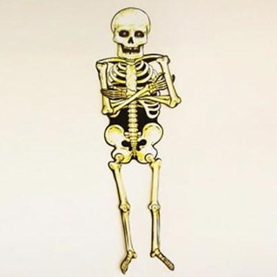 종이해골장식 80cm_(301527289)
