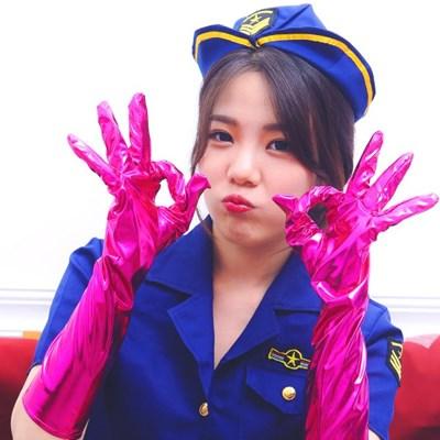 섹시 파티장갑 45cm (핑크)_(301526860)
