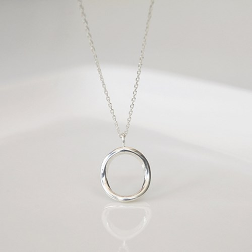라운드 N (silver925)