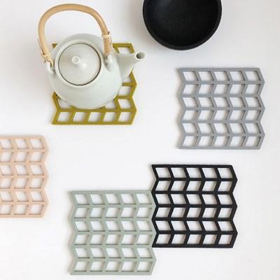 [BY MAY] Silicone Pot Coaster - 실리콘 냄비받침 5가지 컬러