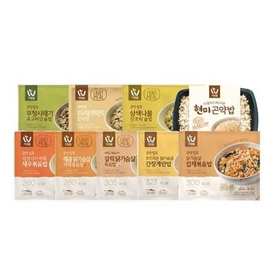 [아임웰] 집밥보다 맛있는 라이트밀 영양 곤약밥 8종 골라담기