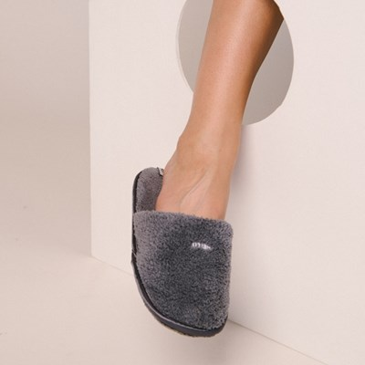 THE TOWEL SLIPPERS [GRAY]