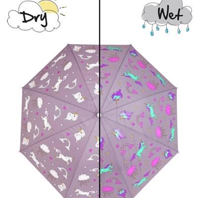 Holly & Beau 컬러체인징 우산 - 유니콘